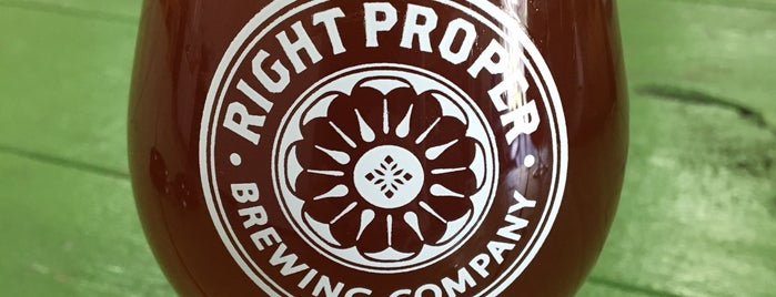 Right Proper Brewing Production House is one of John 님이 저장한 장소.