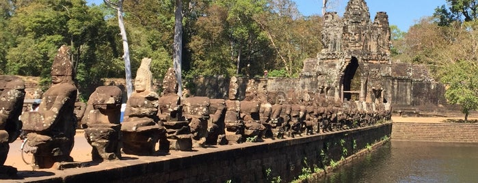 Angkor Thom South Gate is one of Unforgettable Siem Reap.