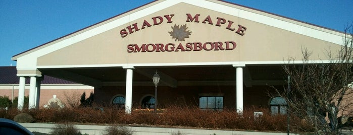 Shady Maple Smorgasbord is one of breakfast.