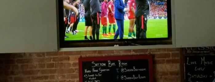 Sutton Bar Room is one of Jason : понравившиеся места.
