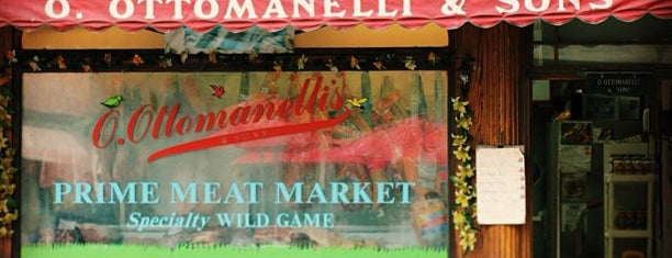 Ottomanelli's Meat Market is one of World Gourmet Guide.