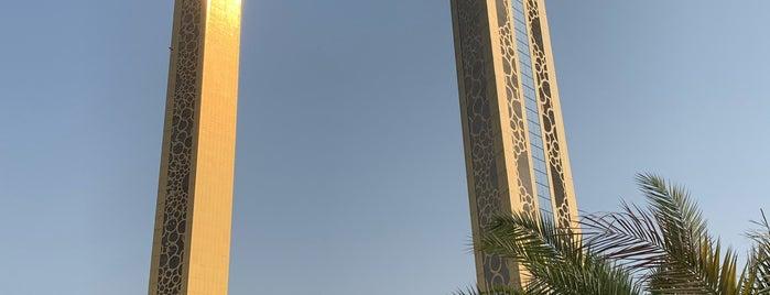 Dubai Frame is one of Dubai.