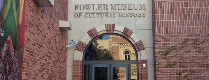 Fowler Museum at UCLA is one of LA.