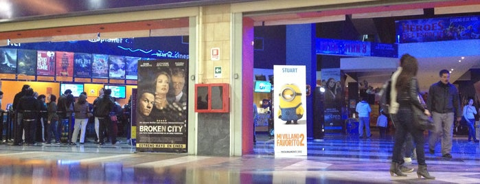 Cineplanet is one of Lugares :).