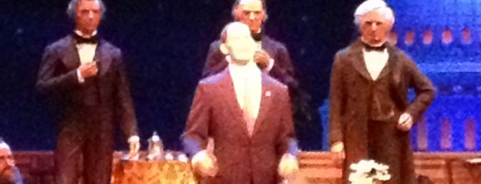 The Hall of Presidents is one of Orlando/2013.