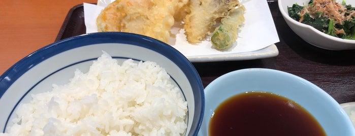 天丼てんや 唐瀬店 is one of inuさんのお気に入りスポット.