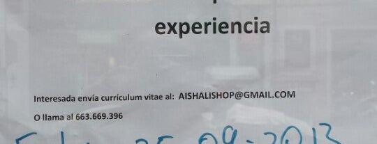 Aishali is one of Ofertas de Trabajo de Tiendas de Moda Barcelona.