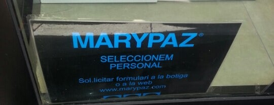 Marypaz is one of Ofertas de trabajo Comercios Barcelona II.