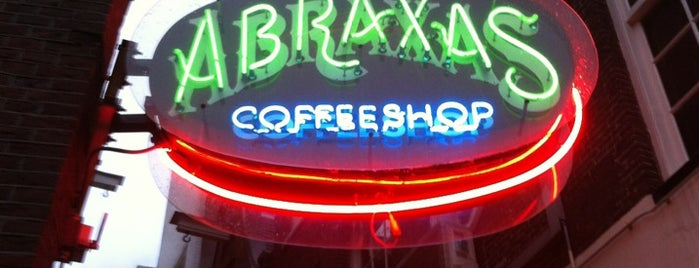 Abraxas is one of coffeeshops.