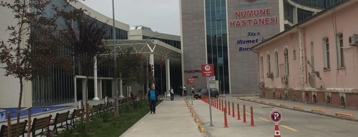 Numune Hastanesi Merkez Polikliniği is one of Tempat yang Disukai Emrah.