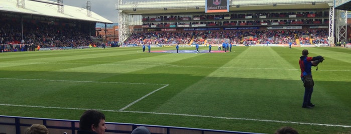 Selhurst Park | Crystal Palace FC is one of Barclays Premier League Grounds & Stadiums 2013/14.