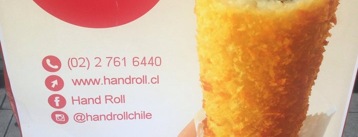 Hand Roll is one of Donde llevar a la polola.