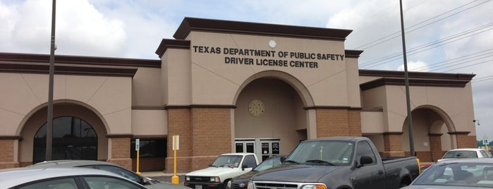 TX DPS Megacenter is one of Governmental Services: Texas.