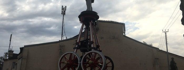 Памятник Передвижной Ленин (Ленин на колесах) is one of Lieux sauvegardés par Ksu.