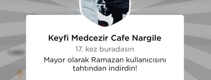 Keyfi Medcezir Cafe Nargile is one of Antalya.