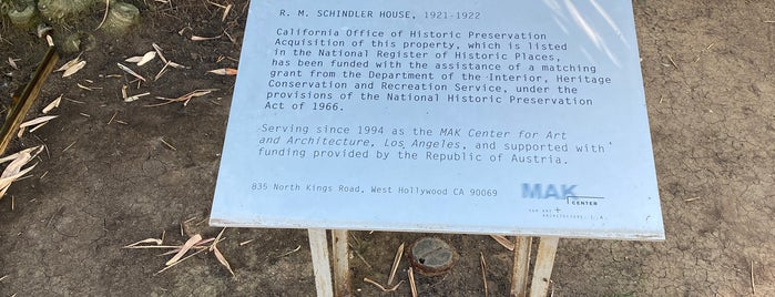 Schindler House is one of LA love.