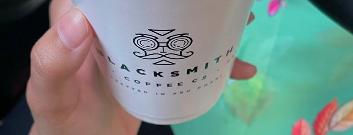 Blacksmith Coffee Co. is one of Abu Dhabi.