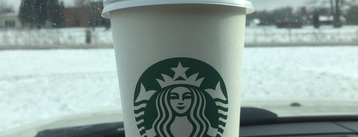 Starbucks is one of Cinci Work Food.