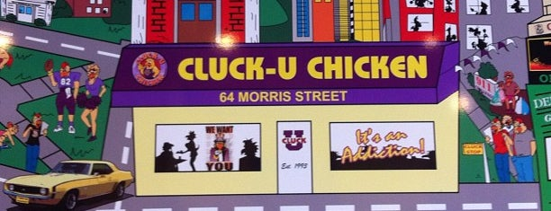 Cluck U Chicken is one of Remember College?.
