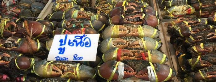 ตลาดประมงพื้นบ้าน อ่างศิลา is one of Posti che sono piaciuti a Sopha.