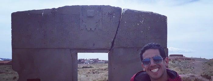 tiwanaku is one of Tempat yang Disukai Marcus.