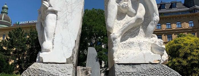 Mahnmal gegen Krieg und Faschismus is one of Posti che sono piaciuti a philipp.