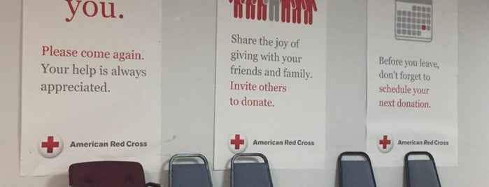 American Red Cross is one of Lugares favoritos de Kyle.