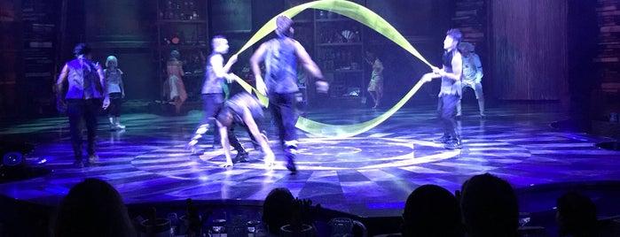 Cirque du Soleil is one of Carla 님이 저장한 장소.
