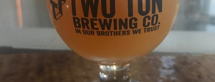 Two Ton Brewing is one of New Jersey Breweries.
