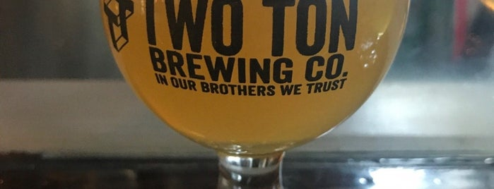 Two Ton Brewing is one of Jersey.