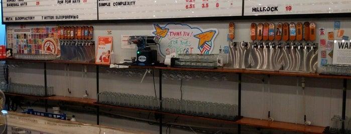 Sloop Brewing Co. is one of Tempat yang Disukai Erik.