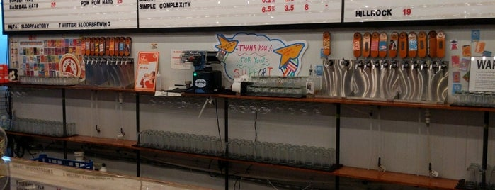 Sloop Brewing Co. is one of Tempat yang Disimpan Mike.