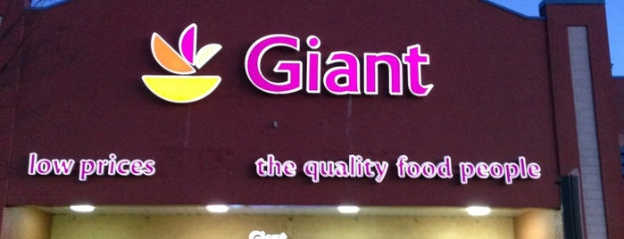 Giant Food is one of shopping.