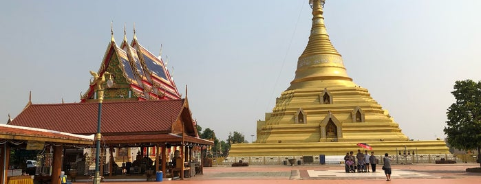 Phra Barom Mathat Nakhon Chum Temple is one of Tempat yang Disukai Masahiro.
