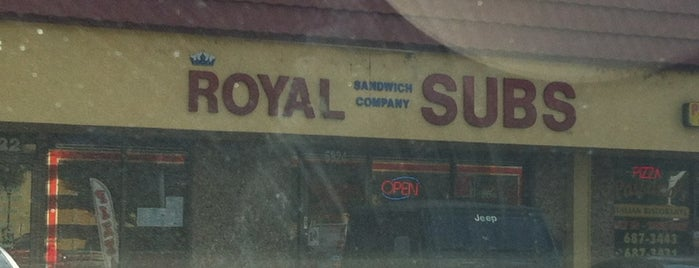 Royal Sandwich Company is one of home.