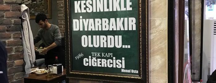 Tek Kapı Ciğercisi is one of Turkey mix.