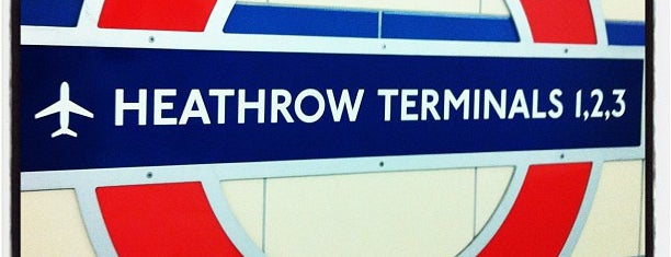 Heathrow Terminals 2 & 3 London Underground Station is one of Things to do in Europe 2013.