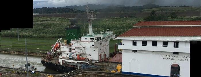 Panama Canal is one of Tempat yang Disukai Penelope.