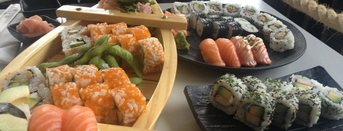 Sushi'n'Roll is one of Helsinki.