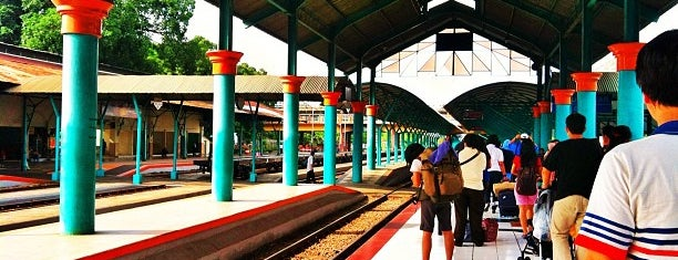 Stasiun Surabaya Gubeng is one of Surabaya train station.