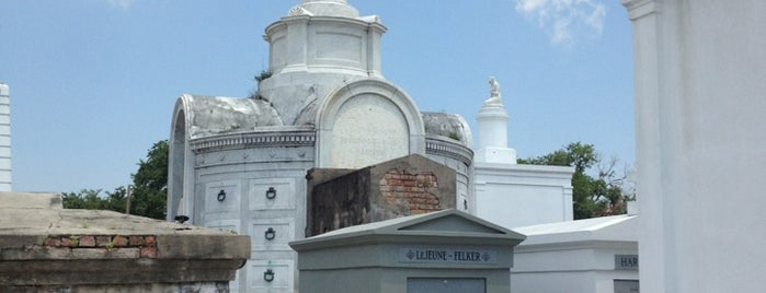 St. Louis Cemetery No. 1 is one of New Orleans.