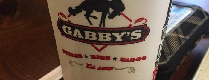 Gabby's BBQ is one of Hey-o Houston.