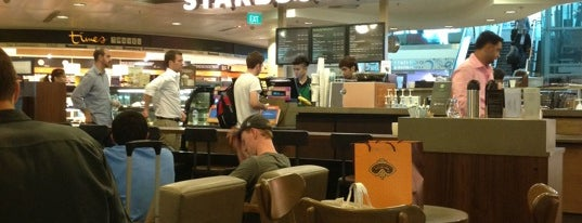 Starbucks is one of J's Liked Places.