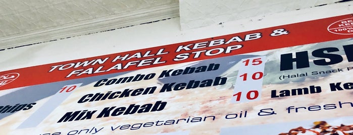 Town Hall Kebabs is one of Gourmet Grocers, Bon Boutiques, Artisan Emporiums:.
