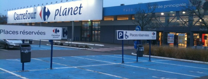 Carrefour is one of Lieux qui ont plu à Jean-François.
