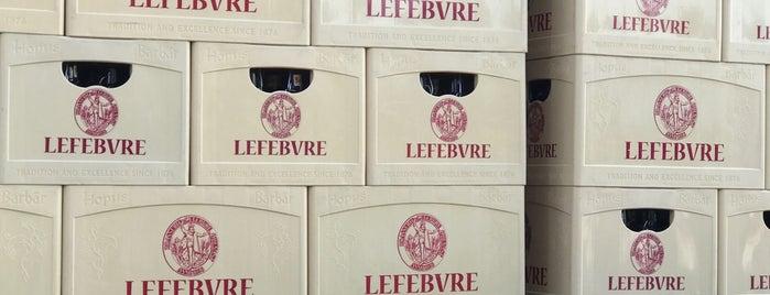 Brasserie Lefebvre is one of Beer / Belgian Breweries (2/2).