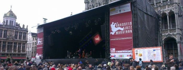 Brussels Jazz Marathon is one of Locais curtidos por Krishanu.