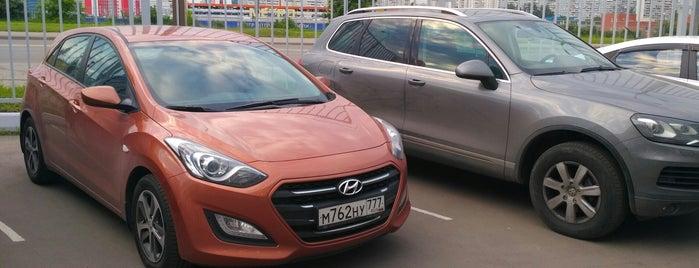 Major Hyundai is one of Roman : понравившиеся места.