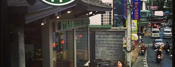 Starbucks is one of Phuket.