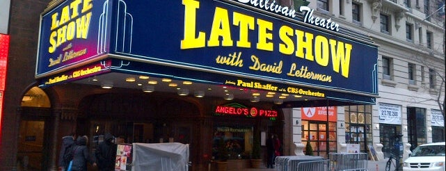 The Late Show with David Letterman is one of Manhattan NYC.